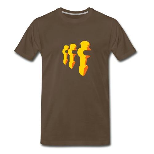 Foosball player - Men's Premium T-Shirt