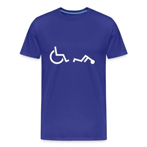Disabled Fail: T-shirt - Men's Premium T-Shirt