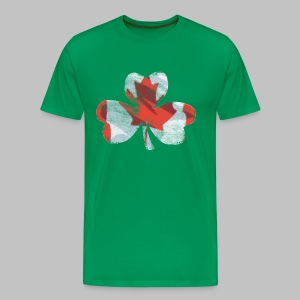 Canadian Shamrock - Men's Premium T-Shirt