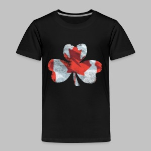 Canadian Shamrock - Toddler Premium T-Shirt