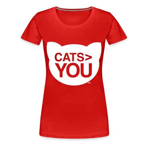 Cats > You + - Women's Premium T-Shirt