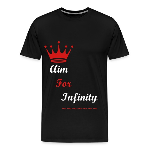 Aim For Infinity Tee - Men's Premium T-Shirt