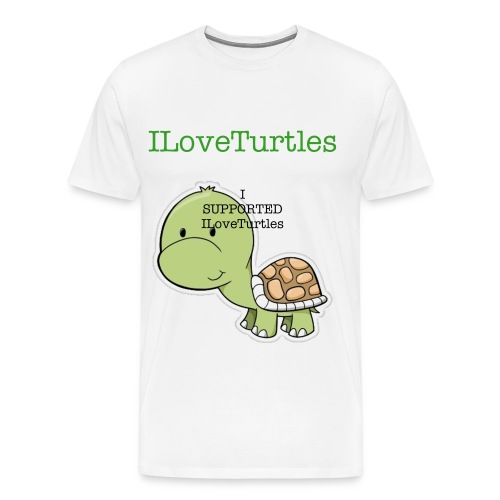 ILoveTurtles T-Shirt - Men's Premium T-Shirt