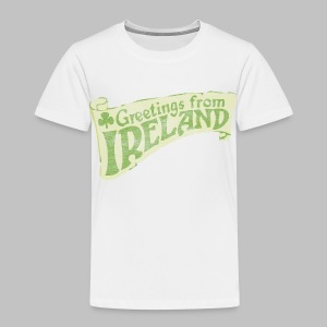 Old Greetings From Ireland - Toddler Premium T-Shirt