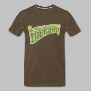 Old Greetings From Ireland - Men's Premium T-Shirt