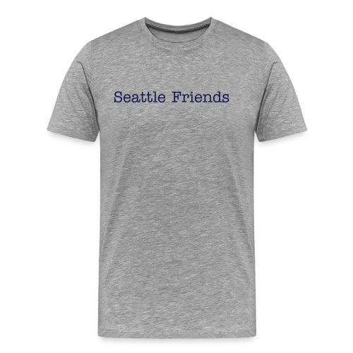 Seattle Friends - Men's Premium T-Shirt