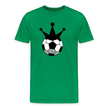 soccer ball sports king with crown T-Shirts