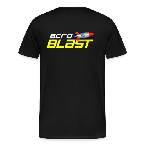Acroblast Logo black - Men's Premium T-Shirt
