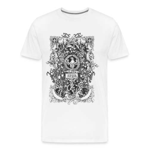 SPQR eagle design tshirt - Men's Premium T-Shirt