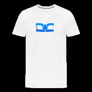 T-Shirts ~ Men's Premium T-Shirt ~ MENS TEE: DotaCinema logo white