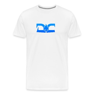 MENS TEE: DotaCinema logo white - Men's Premium T-Shirt