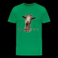 T-Shirts ~ Men's Premium T-Shirt ~ You Gonna Eat That?