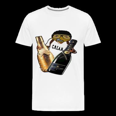 cream CHEERS CLUB T-Shirts