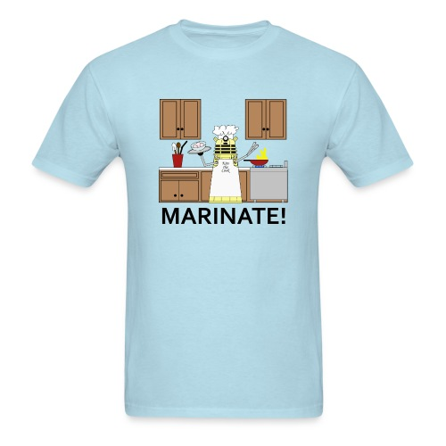 Marinate!  in full color - Men's T-Shirt