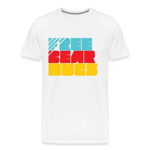 Free Bear Hugs - Men's Premium T-Shirt