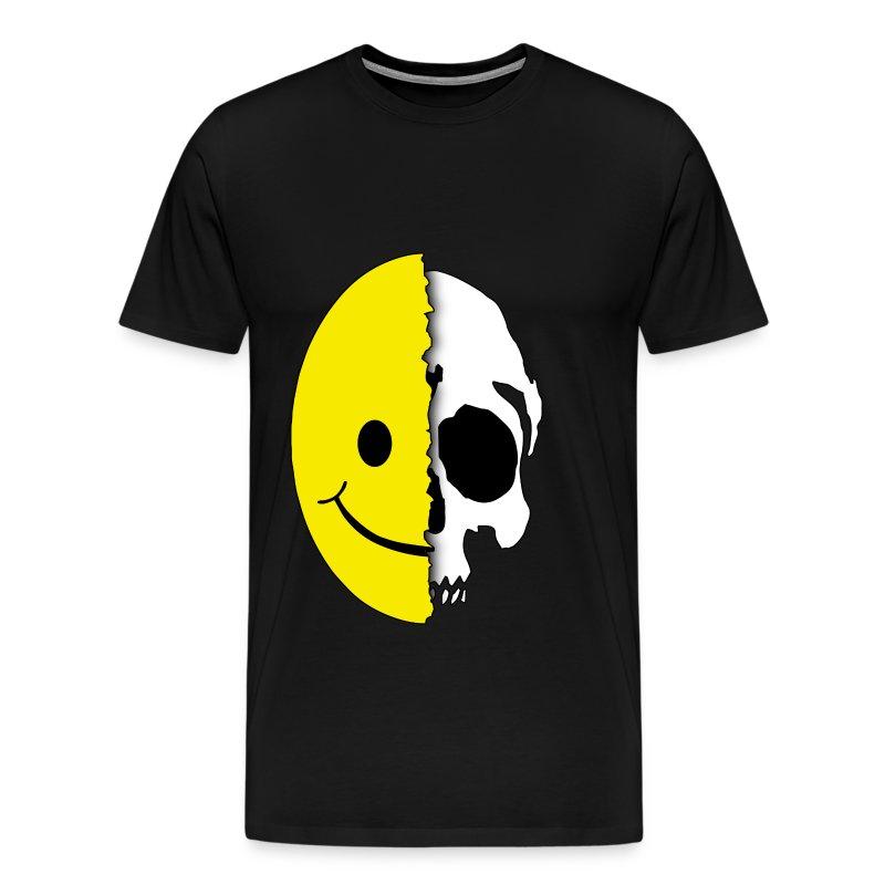 shreaded smiley t shirt spreadshirt. Black Bedroom Furniture Sets. Home Design Ideas