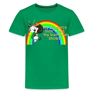 Didn't Cut My Rainbow Short - Kids' Premium T-Shirt