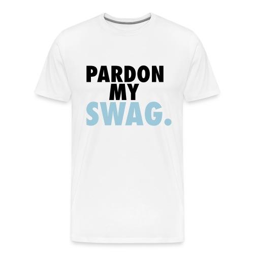Mens - Pardon My Swag. - Men's Premium T-Shirt