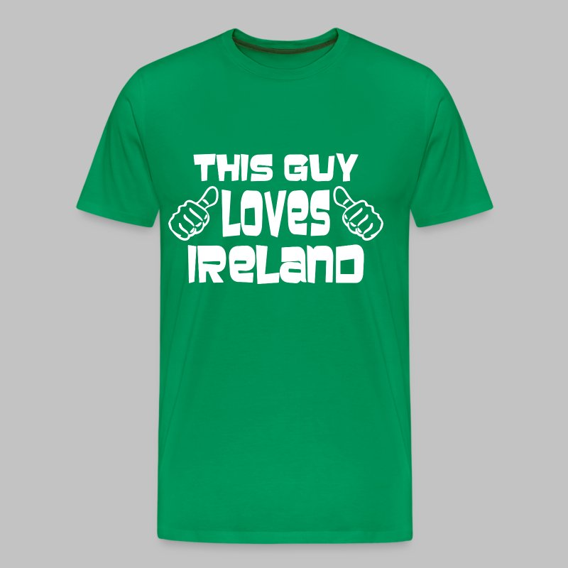 This Guy Loves Ireland - Men's Premium T-Shirt