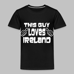 This Guy Loves Ireland - Toddler Premium T-Shirt