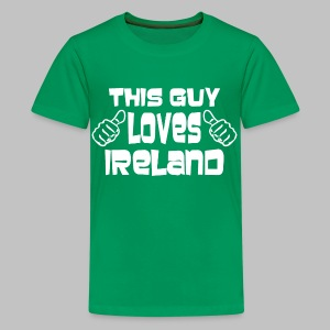 This Guy Loves Ireland - Kids' Premium T-Shirt