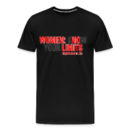 T-Shirts ~ Men's Premium T-Shirt ~ Ringbelles No Limits 2.0 3XL/4XL T-shirt