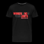 T-Shirts ~ Men's Premium T-Shirt ~ Ringbelles No Limits 2.0 3XL/4XL T-shirt