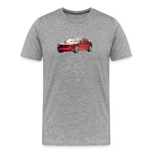 Dodge Charger Red - Men's Premium T-Shirt