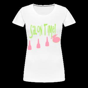 salon time - Women's Premium T-Shirt