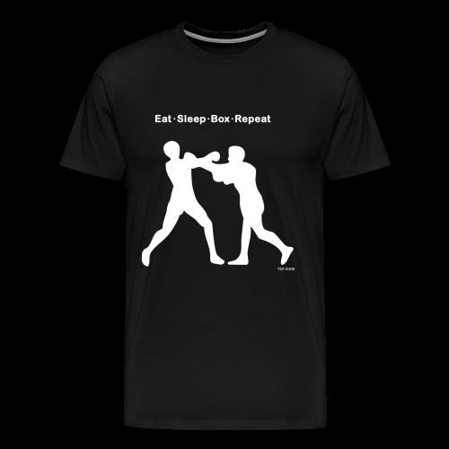 Eat Sleep Box Repeat  - Men's Premium T-Shirt