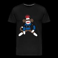 T-Shirts ~ Men's Premium T-Shirt ~ Sock monkey