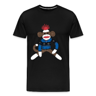 T-Shirts ~ Men's Premium T-Shirt ~ Sock monkey