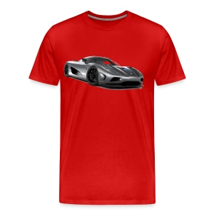 Koenigsegg Supercar - Men's Premium T-Shirt