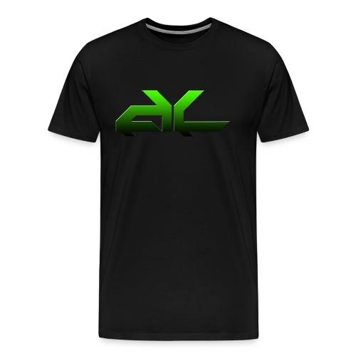 Acid Logo (Green) - Men's Premium T-Shirt