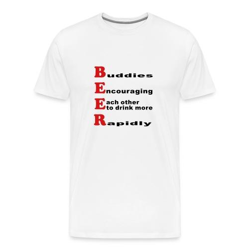 BEER DEFINITION - Men's Premium T-Shirt