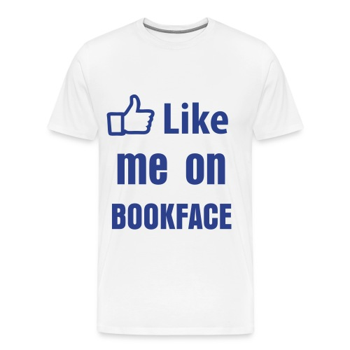 BookFace - Men's Premium T-Shirt