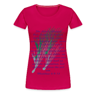Women's T-Shirts ~ Women's Premium T-Shirt ~ The Lord's Prayer