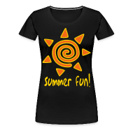 Women's T-Shirts ~ Women's Premium T-Shirt ~ Summer fun