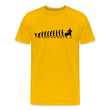Really Funny Joke Centaur Evolution Man Graphic Design Vector T-Shirts
