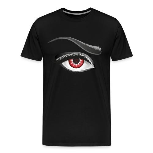 ✗♥O Red Eye Mens Shirt - Men's Premium T-Shirt