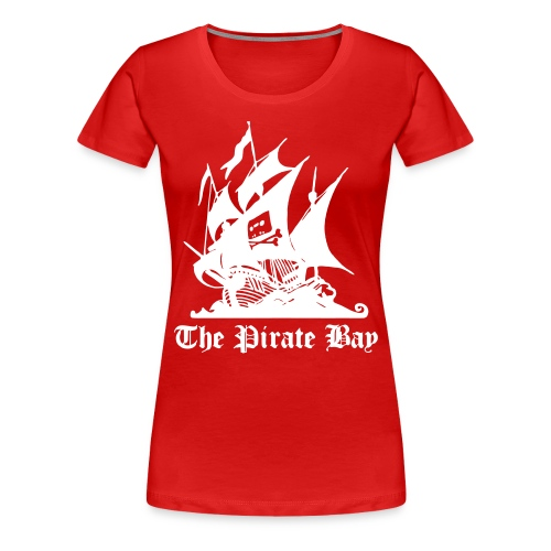 The Pirate Bay Logo Vector T-Shirt - Women's Premium T-Shirt