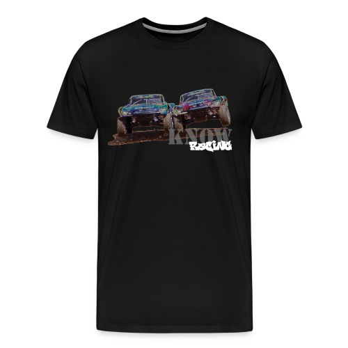 Know Racing Solarized Tee - Men's Premium T-Shirt