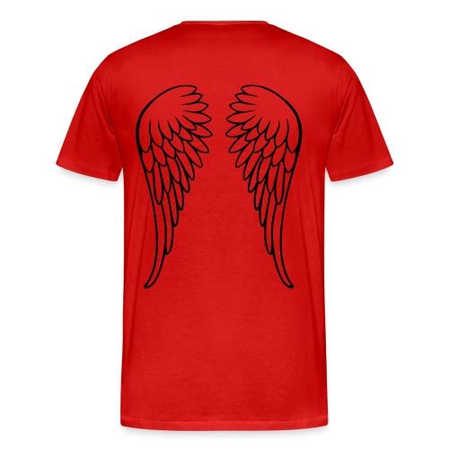 Angels Back - Men's Premium T-Shirt