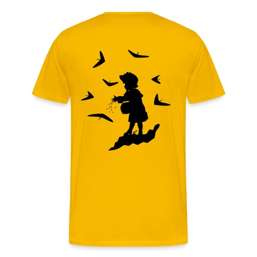 HG - FEEDING WINGS - Men's Premium T-Shirt