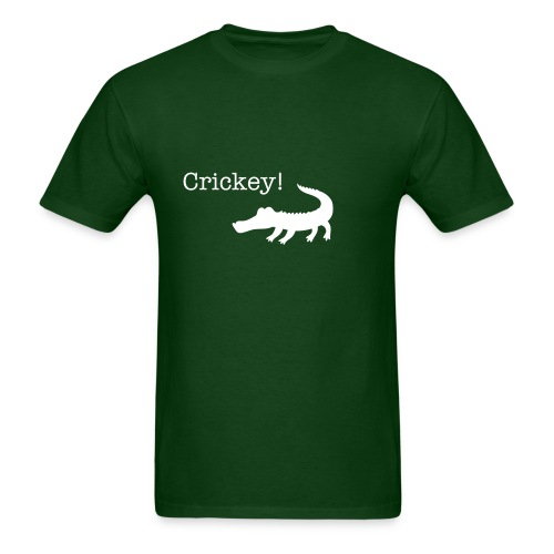 Crikey! Green Tee - Men's T-Shirt