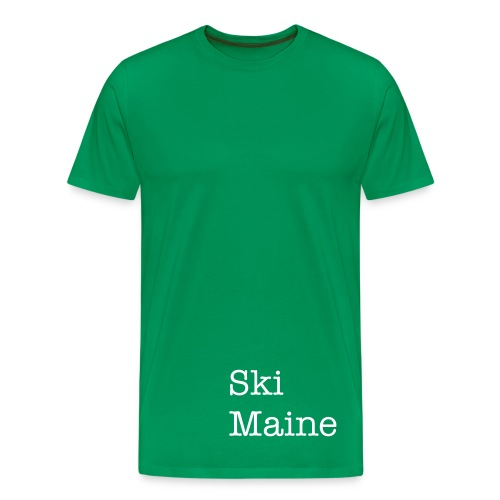 Ski Maine Tee - Men's Premium T-Shirt