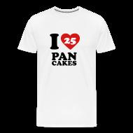 T-Shirts ~ Men's Premium T-Shirt ~ I Love Pancakes!- Men's