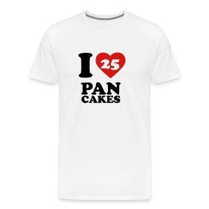 I Love Pancakes!- Men's - Men's Premium T-Shirt