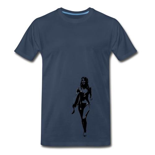 CLA Surf Girl  - Men's Premium T-Shirt