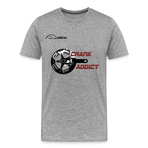 Cycling T Shirt - Crank Addict - Men's Premium T-Shirt